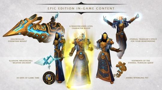 World Of Warcraft: Shadowlands Epic Edition