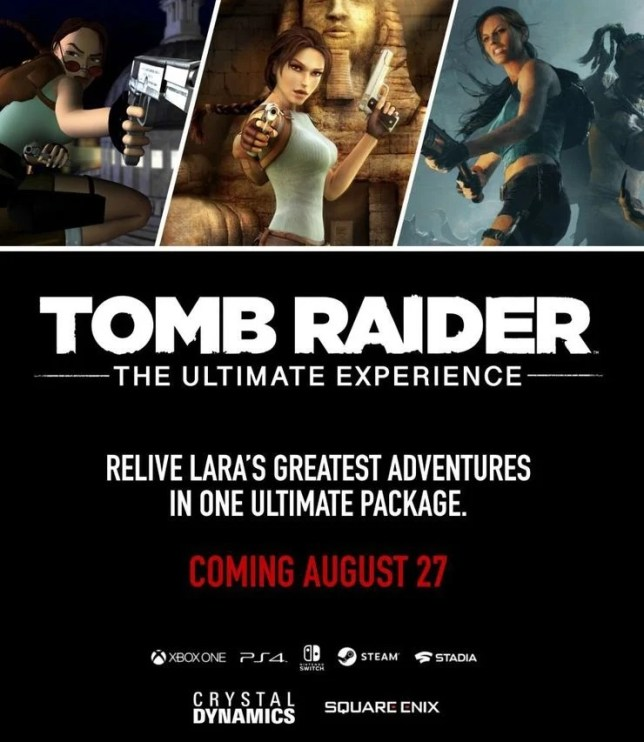 Lara Croft Tomb Raider Ultimate Experience