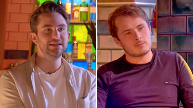 Tony Clay and Max Bowden in EastEnders: Secrets From The Square