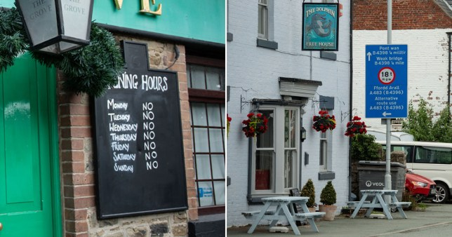 People in Wales told not to travel more than five miles to pubs in England