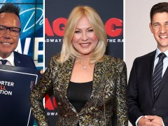 Australian network Channel 10 axes 25 stars including Kerri-Anne Kennerley and Tim Bailey
