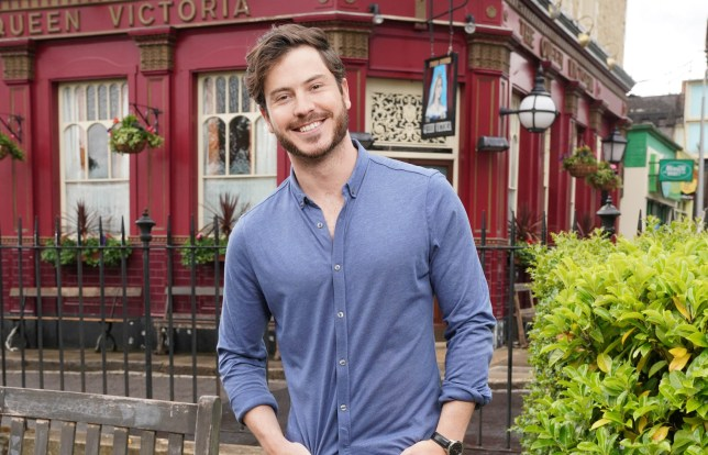 Toby-Alexander Smith in in EastEnders: Secrets From The Square