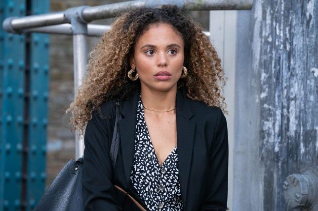 Chantelle makes an escape in EastEnders