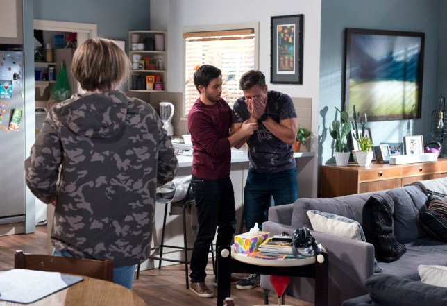 Brend, David and Aaron in Neighbours