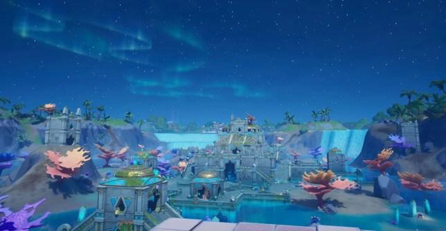 Fortnite Atlantis Coral Castle
