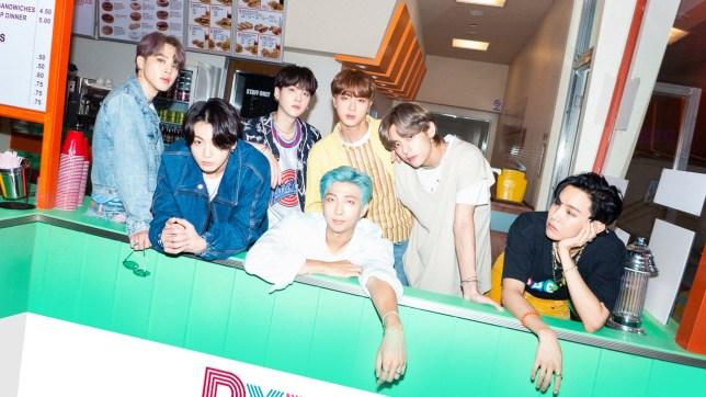 BTS dynamite concept