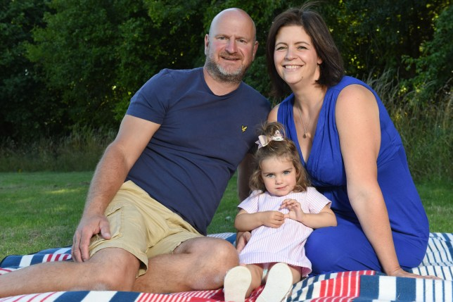 parents 11 year wait for 55k miracle baby, caters exclusive - rhona and nigel brown with kiki