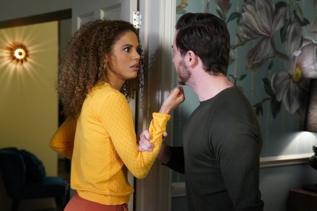 EastEnders Gray and Chantelle