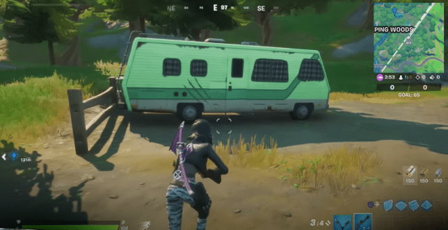 A still from Fortnite gameplay.