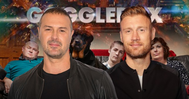 Freddie Flintoff compares Total Wipeout to Gogglebox