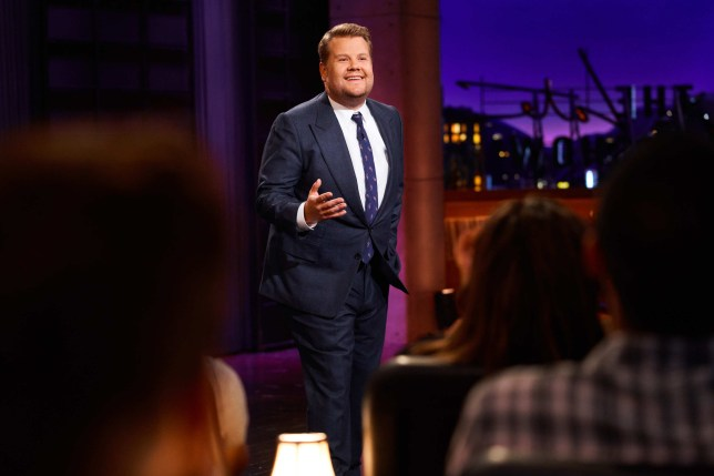 James Corden hosting The Late Late Show
