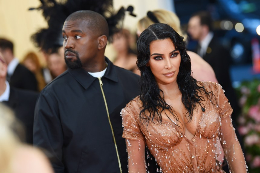 Kim Kardashian and Kanye West attend The 2019 Met Gala Celebrating Camp: Notes on Fashion