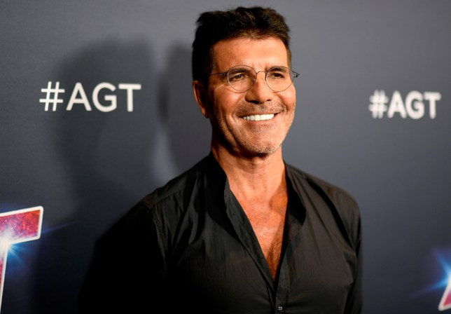 Simon Cowell on red carpet