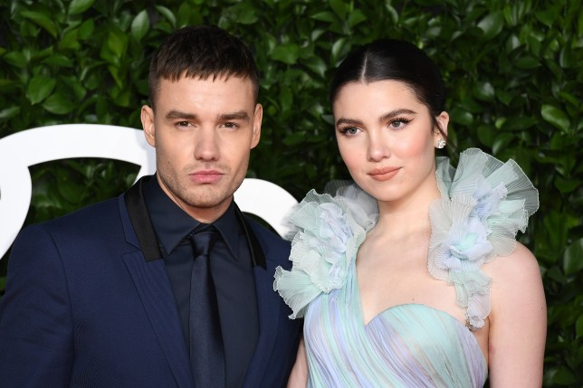 Liam Payne and Maya Henry arrive at The Fashion Awards 2019.