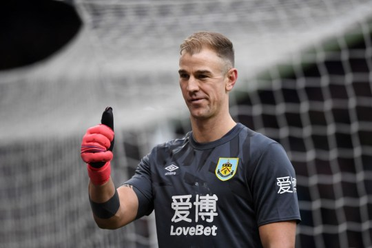 Chelsea target Joe Hart Burnley FC v Norwich City - FA Cup Fourth Round