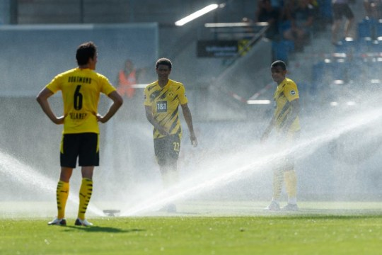 Jude Bellingham Borussia Dortmund v SC Altach - Pre-Season Friendly
