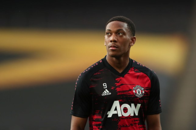 Martial has been entrusted with the No.9 role