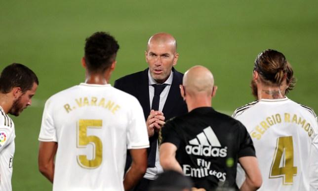 Zinedine Zidane Real Madrid CF v RCD Mallorca  - La Liga