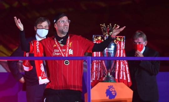 Klopp led his side to Premier League glory