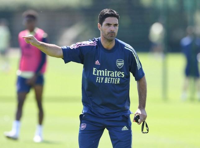 Mikel Arteta has left Bukayo Saka out of Arsenal's FA Cup final starting XI