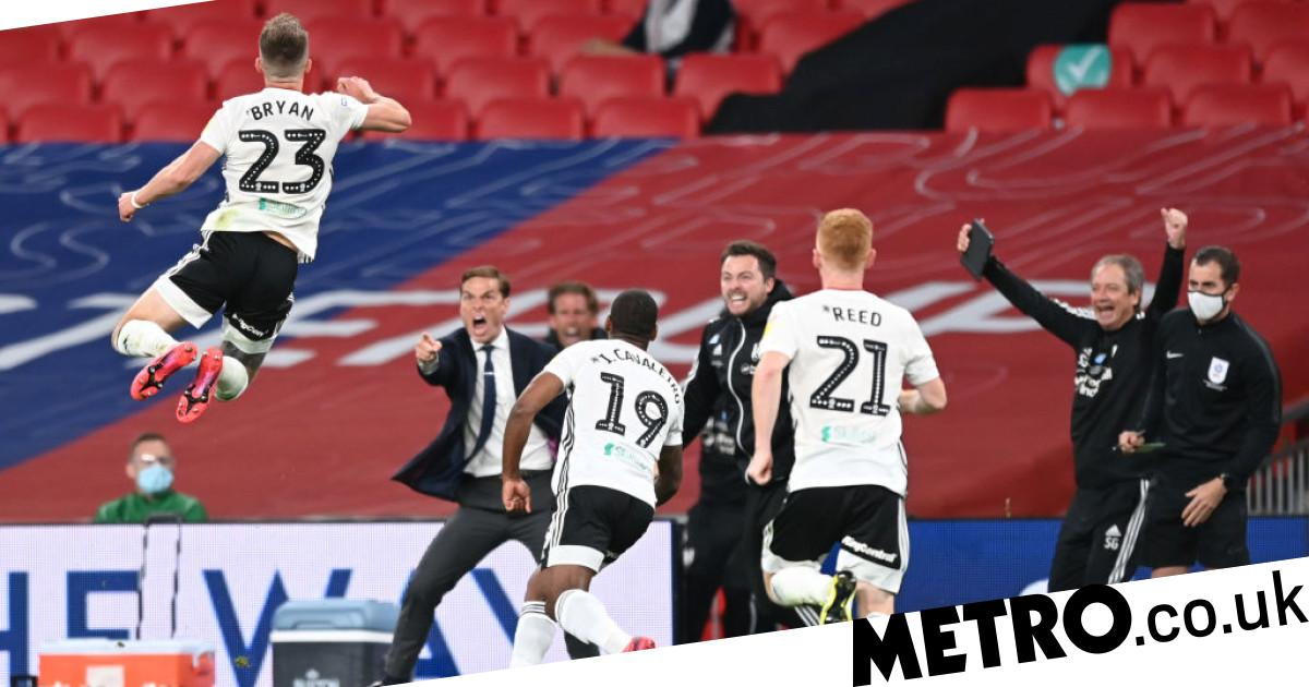 Fulham seal promotion back to the Premier League after Joe Bryan's brace sinks Brentford 2-1 in Championship play-off final - metro