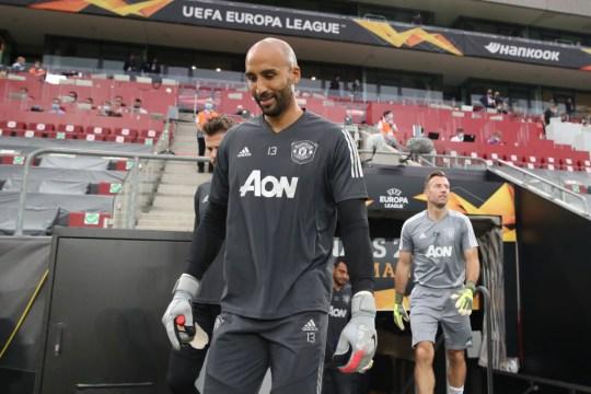 Manchester United goalkeeper Lee Grant