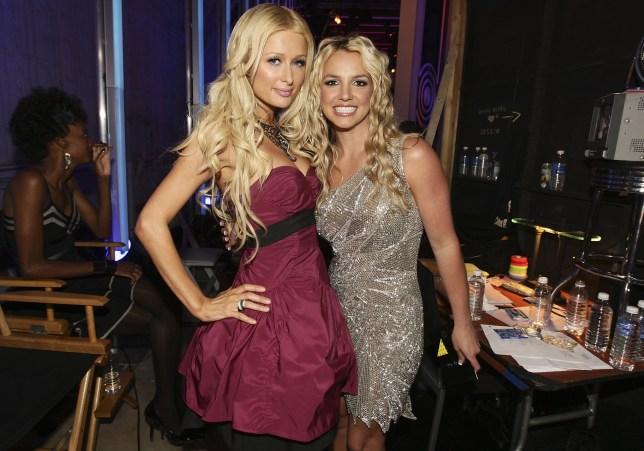 Britney Spears and Paris Hilton