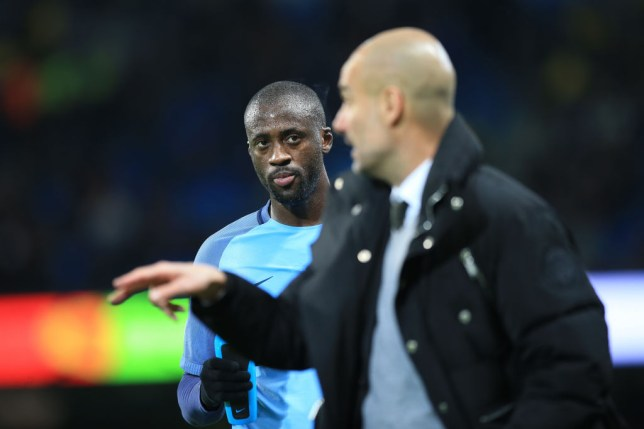 Toure has questioned whether it may be time for a change at City