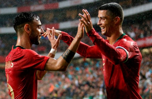 Bruno Fernandes sought Cristiano Ronaldo's advice before signing for Manchester United