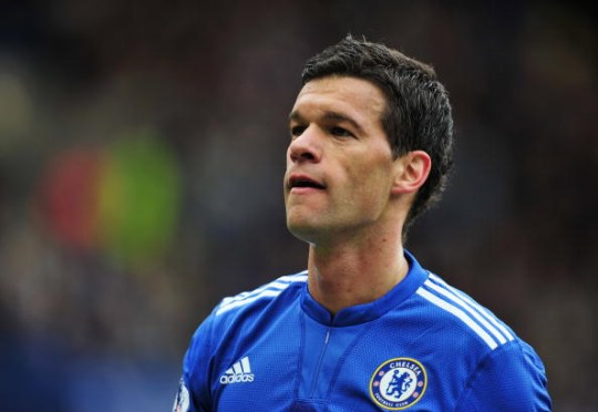 Ballack was a force to be reckoned with at Chelsea