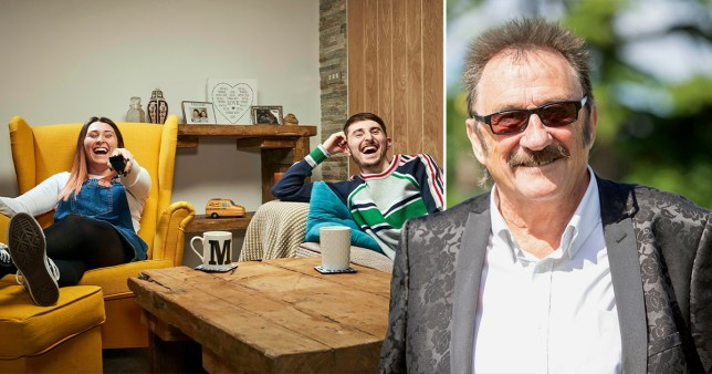 Gogglebox siblings Sophie and Peter Sandiford are related to Paul Chuckle