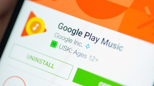 Google Play Music will stop working in October for UK users (Getty Images)