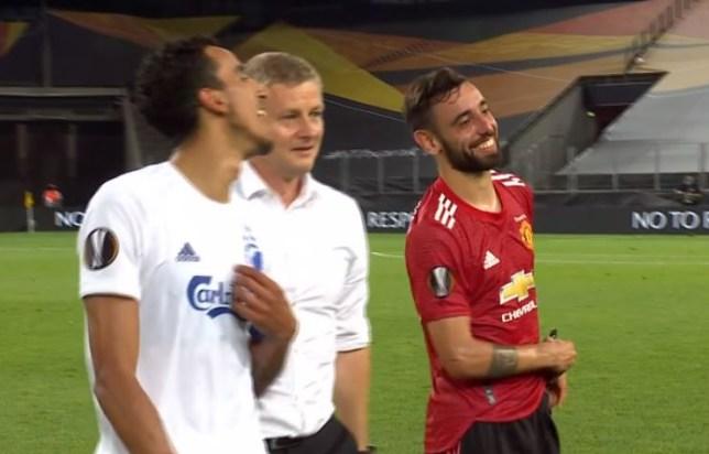 Ole Gunnar Solskjaer aimed a dig at Bruno Fernandes' performance after Manchester United beat FC Copenhagen