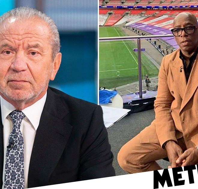 Lord Alan Sugar faces backlash for 'misjudged' tweet about Ian Wright