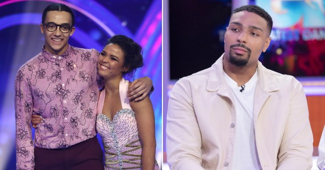 Dancing On Ice\'s Jordan Banjo and Perri Kiely talk possibility of contestants locking down with pros