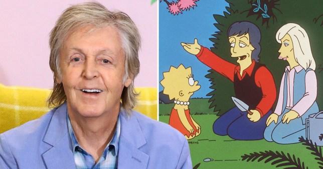 Paul McCartney The Simpsons