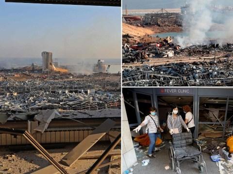 Pictures reveal scenes of complete devastation after Beirut explosion