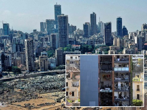 Up to 300,000 people now homeless in Beirut