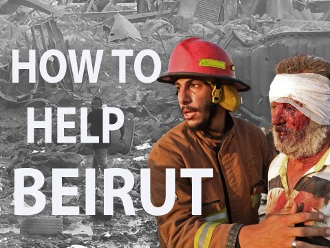 How you can help the victims of the Beirut explosion