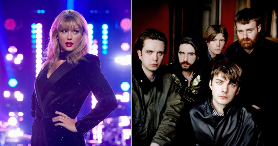 Taylor Swift and Fontaines D.C. are going head to head in the charts