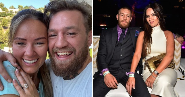 Conor McGregor Dee Devlin engaged