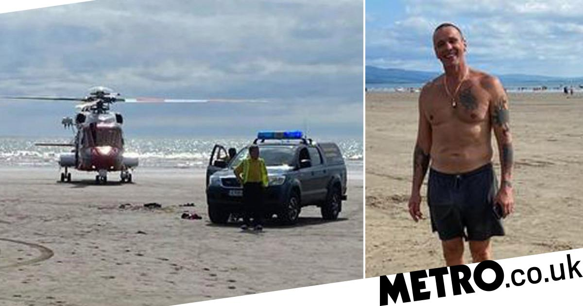Boy,6, swept out to sea on inflatable swan rescued by hero granddad - metro