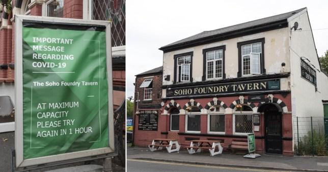 The Soho Foundry Tavern, in Smethwick