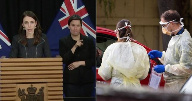 Jacinda Ardern announced new lockdown
