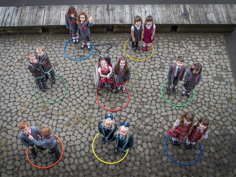 Scottish area famous for twins sees nine sets join primary schools