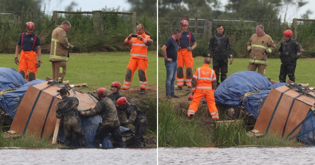 The body of a man who disappeared three decades ago has been found in a car submerged in a river in Northern Ireland.