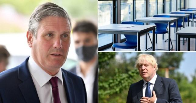 Keir Starmer has told Boris Johnson he 'expects' school to return in September.