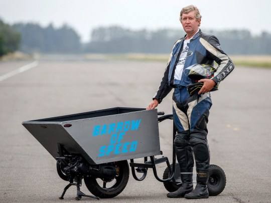 Kevin Nicks and the 'Barrow of Speed'