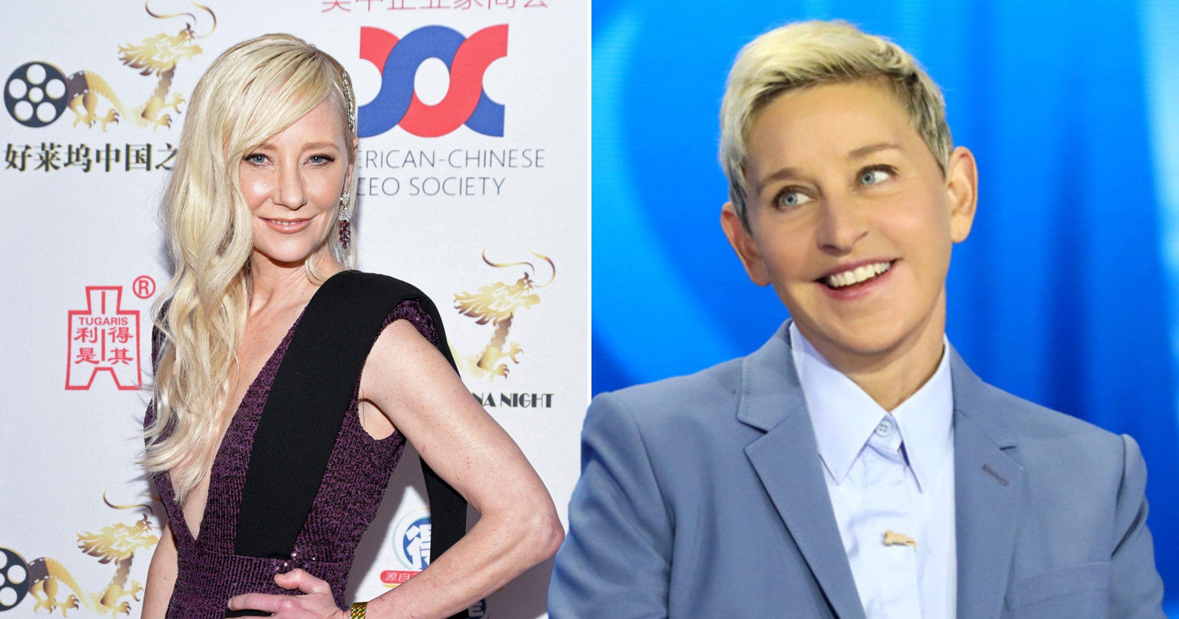 Ellen DeGeneres ex-girlfriend Anne Heche breaks silence