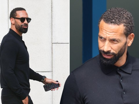 Rio Ferdinand banned from driving for six months after speeding 85mph in a 70mph zone